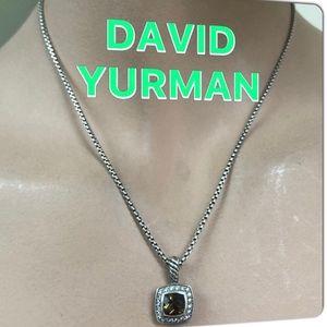 🔴Authentic David Yurman Diamonds & smoky Quartz